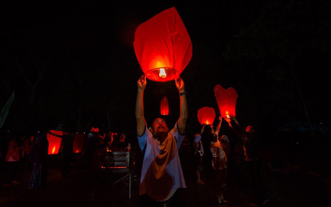 Pesta Lampion di Malam Purnama