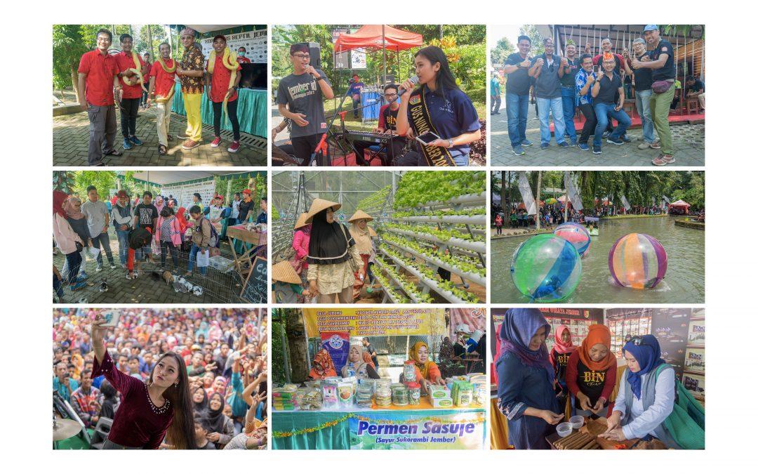 Gebyar Event Taman Botani Sukorambi Dibanjiri Ribuan Tamu