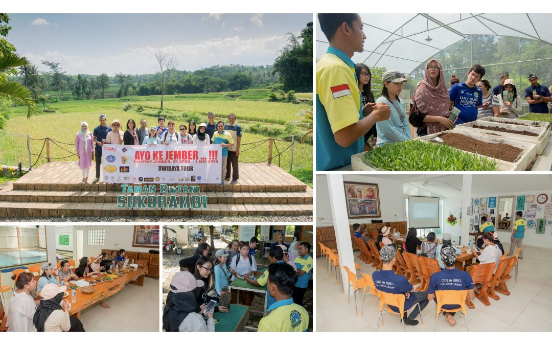 Dwidaya: Tak Menyangka Taman Botani Sukorambi Keren